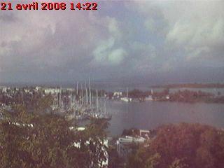 Guadeloupe webcam - Marina de Pointe a Pitre - Guadeloupe webcam, Guadeloupe, Guadeloupe