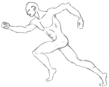 Dessiner le corps cours d 39 anatomie staps - Coureur dessin ...